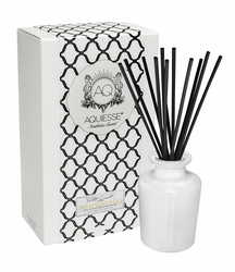 White Ginger Lily Reed Diffuser Set by Aquiesse | Reed Diffuser Sets by Aquiesse