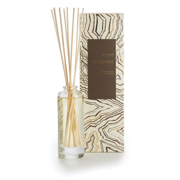 Woodfire Reed Diffuser Illume Candle