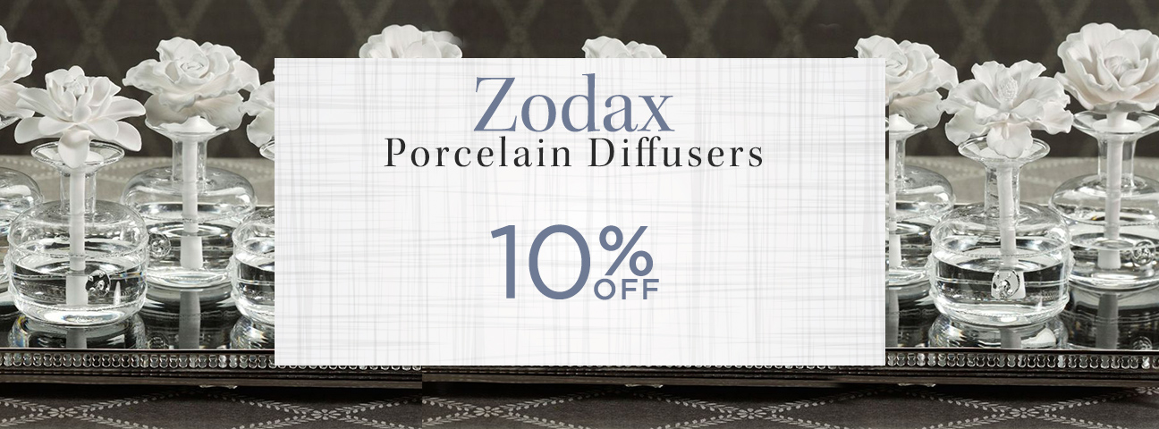 Zodax Porcelain Diffusers & Refills