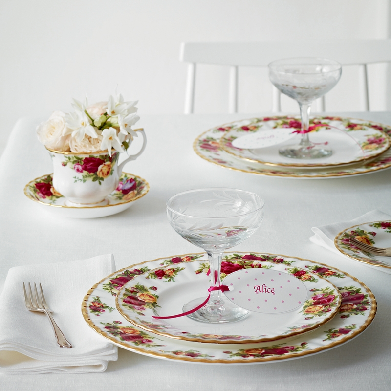 Old Country Roses Dinner Plate By Royal Albert