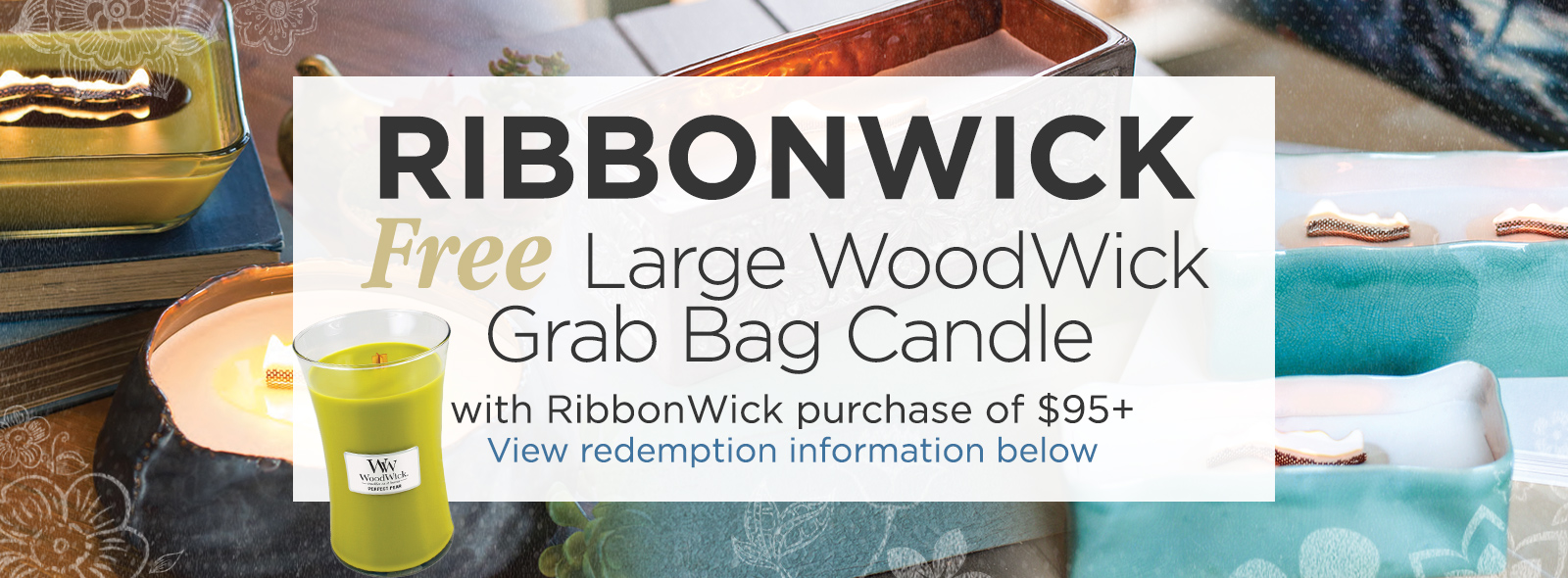 RibbonWick Candles