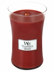 CLOSEOUT - Rum Raisin WoodWick Candle 22 oz. | Discontinued & Seasonal WoodWick Items!