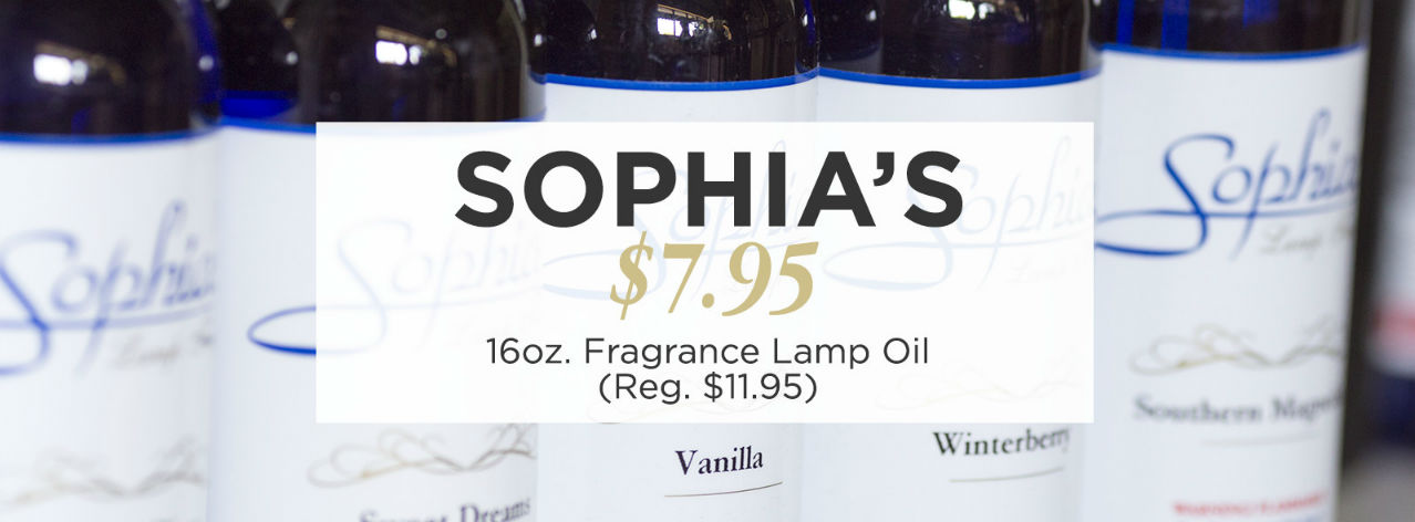 Sophia's Fragrance Lamp Oils