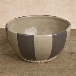 Striped 6in Livingstone Bowl - Set of 4 - GG Collection*