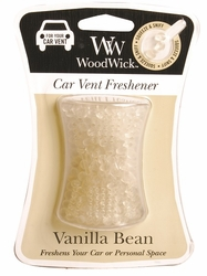 Vanilla Bean WoodWick Car Vent Freshener | Fall Fragrances and Specialty Candles