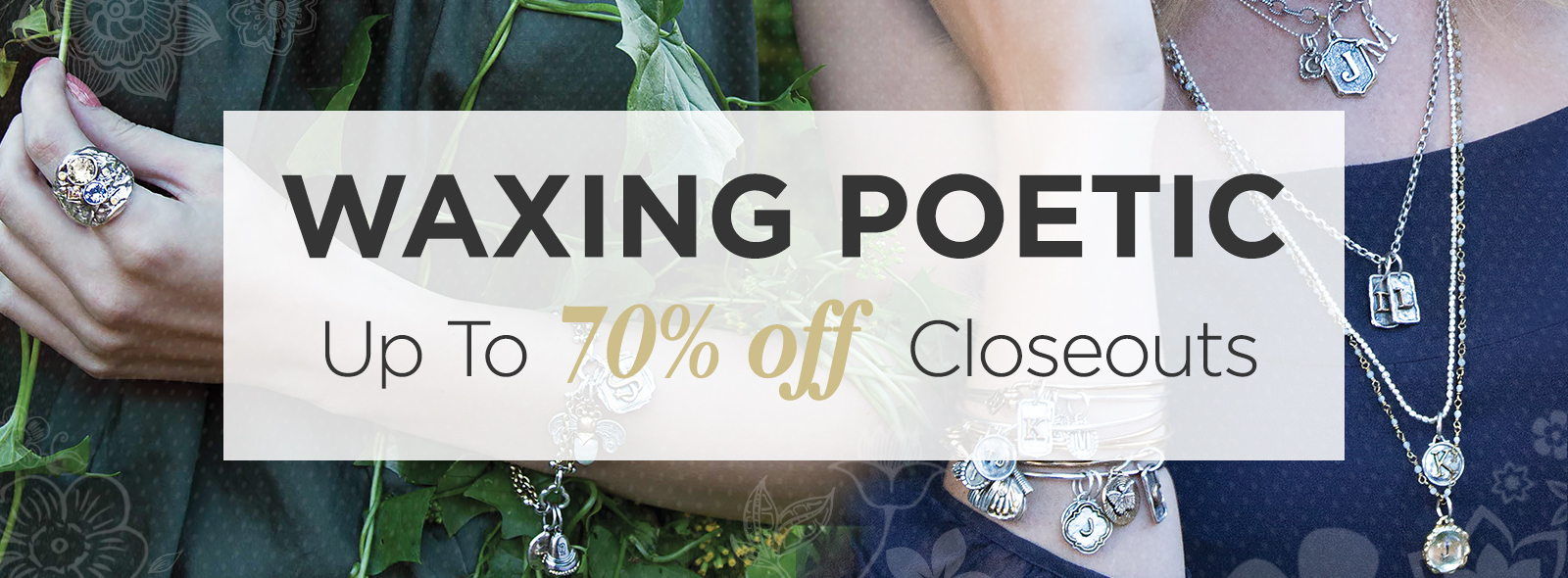 Waxing Poetic Jewelry On Sale At The Lamp Stand Discount