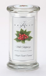 Wild Hollyberry Large Apothecary Jar Kringle Candle | Large Apothecary Jar Kringle Candles