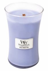 Wild Sweet Pea WoodWick Candle 22 oz. | Woodwick Candles 22 oz.