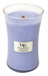 CLOSEOUT - Wild Sweet Pea WoodWick Candle 22 oz. | Discontinued & Seasonal WoodWick Items!
