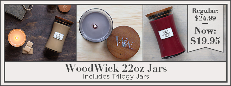 Woodwick Candles 22 oz.