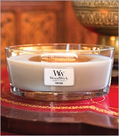 NEW - HearthWick Candles by WoodWick
