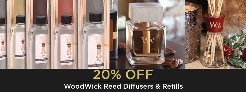 WOODWICK REED DIFFUSERS