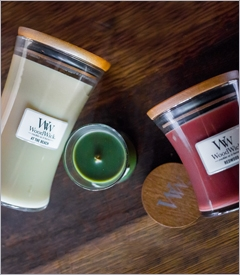 WoodWick Standard Hourglass Jar Candles