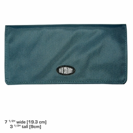 Executive Wallet Smokey Teal: Sale 40% off!