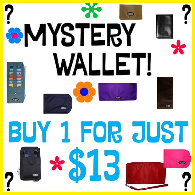 Mystery Wallet!  Buy 1 for just $13!