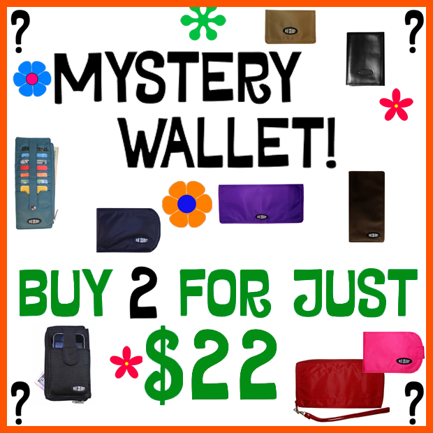 Mystery Wallet!  Buy 2 for just $22!
