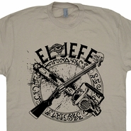 El Jefe Ash Vs Evil Dead T Shirt Bruce Campbell Cult Horror Movie Tee Shirts