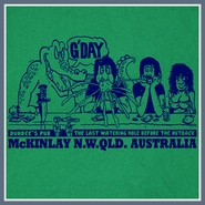 Australia Bar T Shirt Fosters Beer Crocodile Pub Drinking Tee