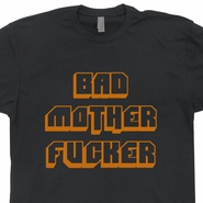 Bad Mother Fucker T Shirt Vintage Harley Davidson Motorcycle T Shirts