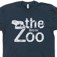 Bronx Zoo T Shirt Cool Vintage New York City Shirts Lion Animal Shirts
