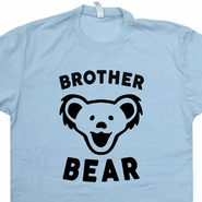 Brother Bear T Shirt Papa Bear Mama Bear Phish Grateful Dead Retro Tee