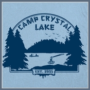 Camp Crystal Lake T Shirt Friday The 13th Jason Voorhees Tee