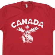 Canada Moose T Shirt Vintage Canada Maple Leaf Shirt Toronto Shirts