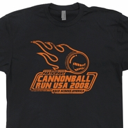 Cannonball Run T Shirts Vintage Burt Reynolds Shirts Funny Movie Tees