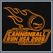 Cannonball Run T Shirt Underground Racing Mopar Hemi Tee