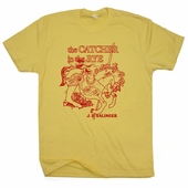 The Catcher In The Rye T Shirt JD Salinger Vintage Literature Tee Shirts