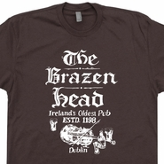Dublin Ireland T Shirts The Brazen Head Pub Irish Beer T Shirts