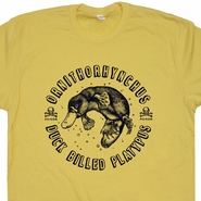 Duck Billed Platypus T Shirt Funny T Shirts Vintage T Shirts