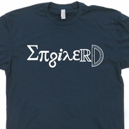 Enginerd T Shirt Engineer Engineering Tee Shirts Math Geek Tee Shirts