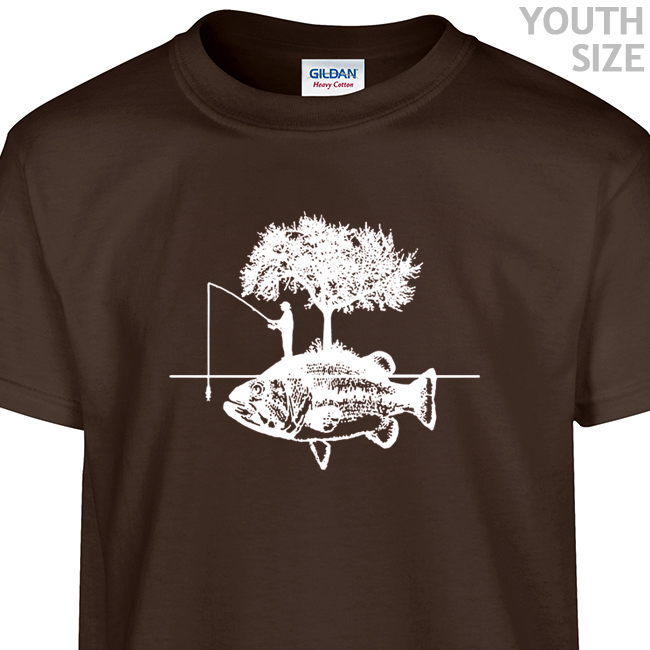 fishing t shirt funny kids shirt cool youth fishing t shirt. Black Bedroom Furniture Sets. Home Design Ideas