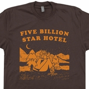 Five Billion Star Hotel Camping T Shirt Vintage Camping T Shirt