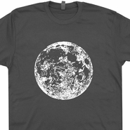 Full Moon T Shirt Astrology T Shirt Astronomy T Shirt