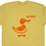 Duck Quack T Shirts Funny Retro hunting Fishing Dynasty Shirts Humor