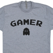 Gamer Vintage Shirt Old School Pac Man Ghost T Shirt Retro Gamer Shirt