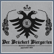 German Bier Beer T Shirt Garden Munich Germany Biergarten Tee