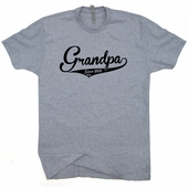 Grandpa Since 2015 T Shirt New Grandfather T Shirt