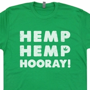 Hemp Hemp Hooray T Shirt Funny Marijuana Pot Logo Shirts Doug Benson