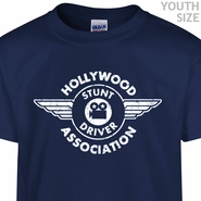 Hollywood Stunt Driver T Shirt Stuntman Funny Youth Shirts