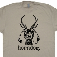 Horndog T Shirt Funny Offensive T Shirt Vintage Soft Tee