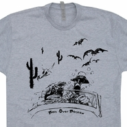 Bats Hunter S Thompson T Shirt Fear And Loathing in Las Vegas Tee