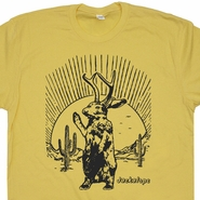 Jackalope T Shirt Mythical Animal T Shirt Vintage T Shirts