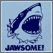 Jawsome T Shirt Jaws Jawesome Awesome Shark Week Tee