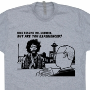 Jimi Hendrix T Shirt Are You Experienced Resume Vintage Rock Tees