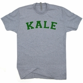 Kale University T Shirt Vegetarian Vegan Shirts Cool Yale Style Tees