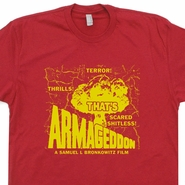 Kentucky Fried Movie T Shirt Armageddon Tee Shirt Funny Retro Atomic Bomb