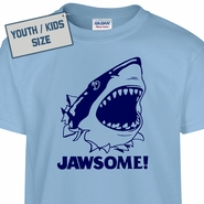 Kids Youth Jawsome T Shirt Jaws T Shirt Funny Kids Tees